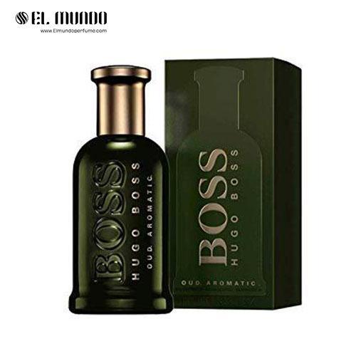 عطر ادکلن مردانه هوگو باس بوس باتلد عود آروماتیک ادوتویلت ۱۰۰ میل Boss Bottled Oud Aromatic