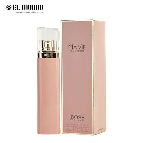 عطر ادکلن زنانه هوگو باس بوس ماوای پور فمه اینتنس ادوپرفیوم ۷۵ میل Boss Ma Vie Pour Femme Hugo Boss
