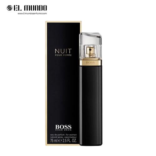 عطر ادکلن زنانه هوگو باس نویت ادوپرفیوم ۷۵ میل Boss Nuit Pour Femme Hugo Boss