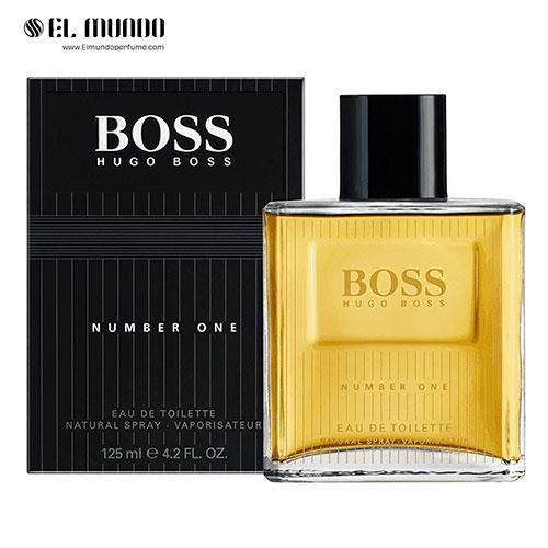 عطر ادکلن مردانه هوگو بوس نامبر وان ادوتویلت ۱۲۵ میلBoss Number One Hugo Boss