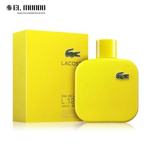 عطر ادکلن مردانه لاگوست یلو – زرد ادوتویلت ۱۷۵ میل Eau de Lacoste L.12.12 Yellow (Jaune)