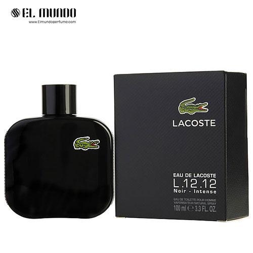 عطر ادکلن مردانه لاگوست نویر-مشکی ادوتویلت ۱۰۰ میل Eau de Lacoste L.12.12. Noir