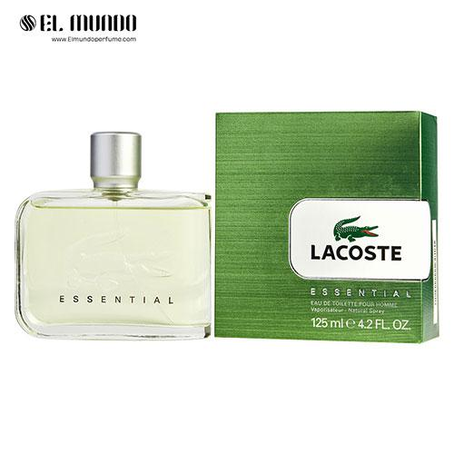 عطر ادکلن مردانه لاگوست اسنشیال-سبز ادوتویلت ۱۲۵ میل Essential Lacoste Fragrances