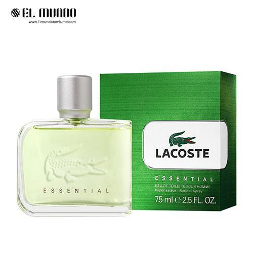 عطر ادکلن مردانه لاگوست اسنشیال-سبز ادوتویلت ۷۵ میل Essential Lacoste Fragrances