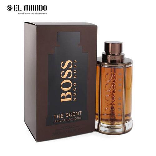 عطر ادکلن مردانه هوگو باس د سنت پرایوت اکورد ادوتویلت ۲۰۰ میل Boss The Scent Private Accord Hugo Boss