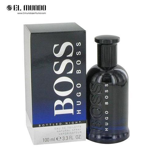 عطر ادکلن مردانه هوگو باس باتلد نایت ادوتویلت ۱۰۰ میل Boss Bottled Night Hugo Boss