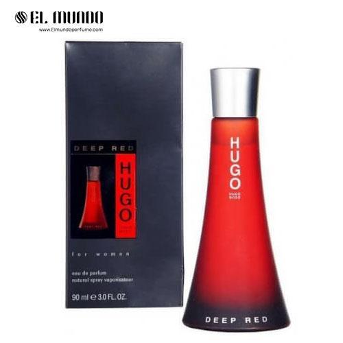 عطر ادکلن زنانه هوگو باس دیپ رد ادوتویلت ۱۰۰ میل Deep Red Hugo Boss