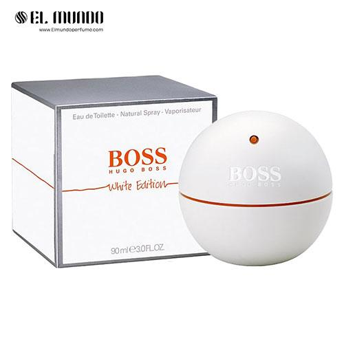 عطر ادکلن هوگو بوس این موشن وایت ادوتویلت ۹۰ میل Boss In Motion White Hugo Boss