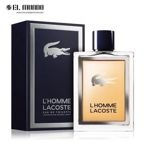 عطر ادکلن مردانه لاگوست لهوم ادوتویلت ۱۰۰ میل L`Homme Lacoste