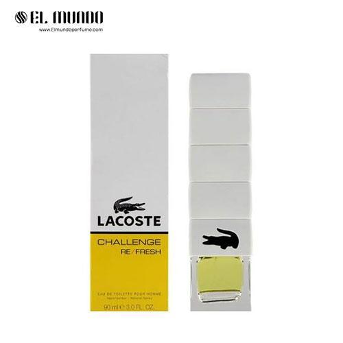 عطر ادکلن مردانه لاگوست چلنج رفرش ادوتویلت ۹۰ میلChallenge Re/Fresh Lacoste Fragrances