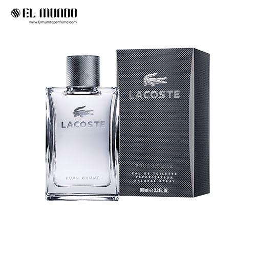 عطر ادکلن مردانه لاگوست پور هوم ادوتویلت ۱۰۰ میل Lacoste Pour Homme Lacoste Fragrances