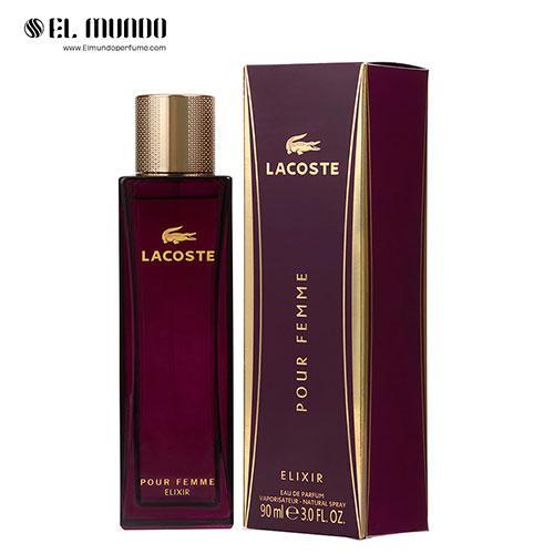 عطر ادکلن زنانه لاگوست پور فم الکسیر ادوپرفیوم ۹۰ میل Lacoste Pour Femme Elixir