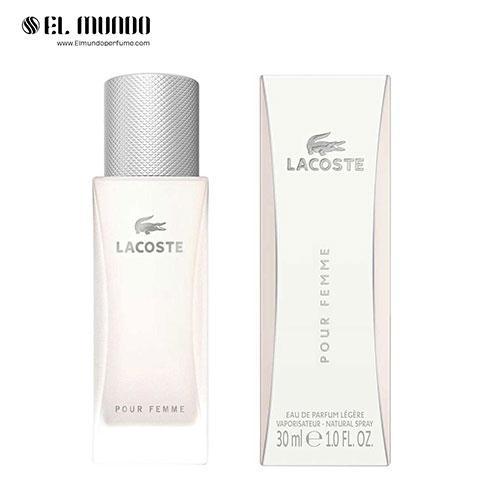عطر ادکلن زنانه لاگوست پور فم لجر ادوپرفیوم ۳۰ میل Lacoste Pour Femme Légère Lacoste Fragrances