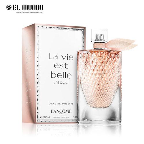 عطر ادکلن زنانه لانکوم لا ویه است بله له اکلت ادوتویلت ۱۰۰ میل La Vie est Belle L'Éclat L'Eau de Toilette
