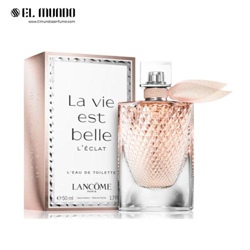 عطر ادکلن زنانه لانکوم لا ویه است بله له اکلت ادوتویلت ۵۰ میل La Vie est Belle L'Éclat L'Eau de Toilette