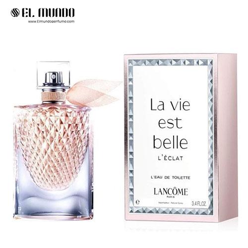 عطر ادکلن زنانه لانکوم لا ویه است بله له اکلت ادوتویلت ۷۵ میل La Vie est Belle L'Éclat L'Eau de Toilette