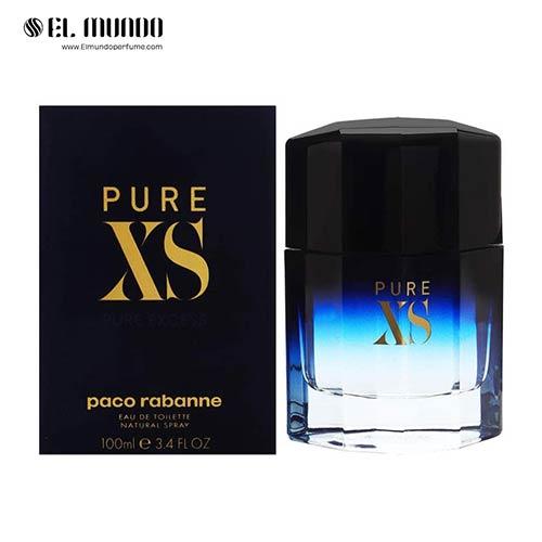 عطر ادکلن مردانه پاکو رابان پیور ایکس اس ادوتویلت ۱۰۰ میل Pure XS Paco Rabanne