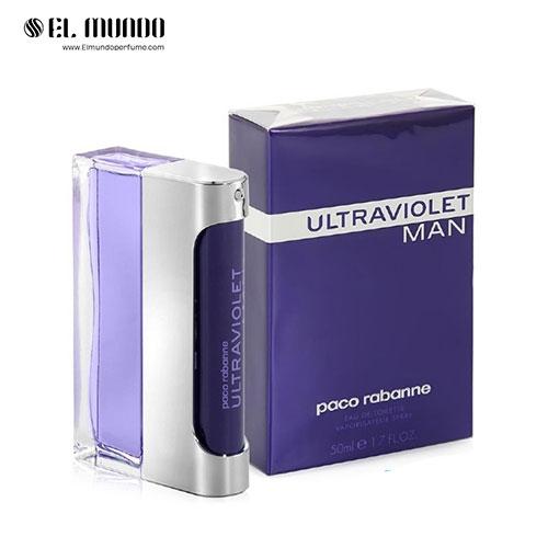 عطر ادکلن مردانه پاکو رابان الترا ویولت ادوتویلت ۱۰۰ میل Ultraviolet Paco Rabanne
