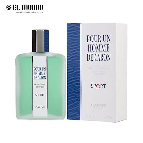 عطر ادکلن مردانه کارون پوران هوم اسپرت ادوتویلت ۱۲۵ میل Caron Pour Un Homme de Caron Sport