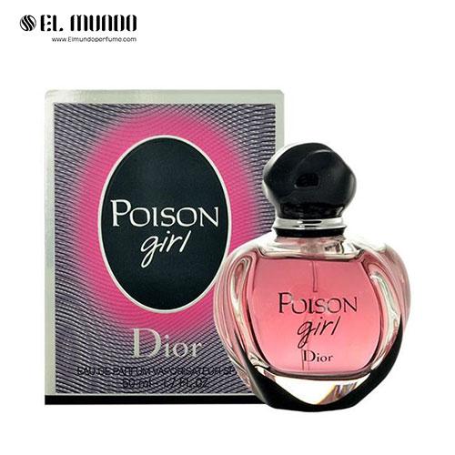 عطر ادکلن زنانه دیور پویزن گرل ادوپرفیوم ۱۰۰ میل Dior Poison Girl