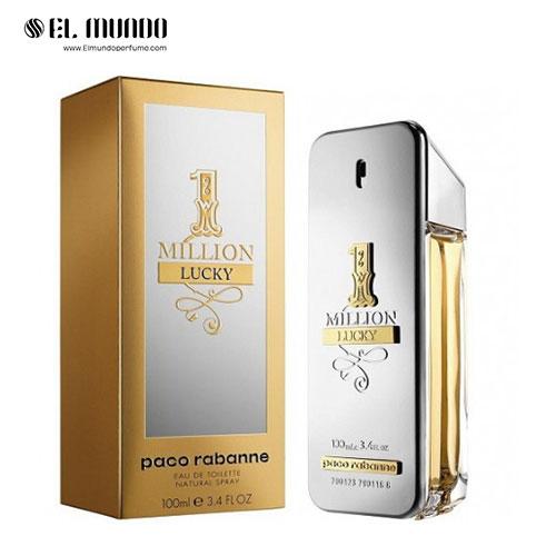 عطر ادکلن مردانه پاکو رابان وان میلیون لاکی ادوتویلت ۱۰۰ میل ۱ Million Lucky Paco Rabanne