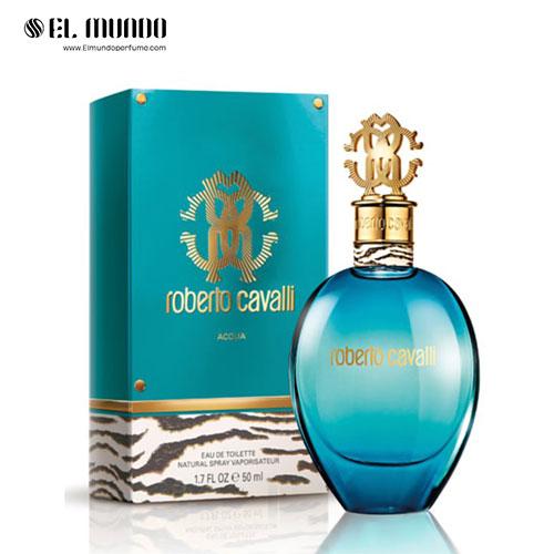 عطر ادکلن زنانه روبرتو کاوالی آکوا ادوتویلت ۷۵ میل Roberto Cavalli Acqua