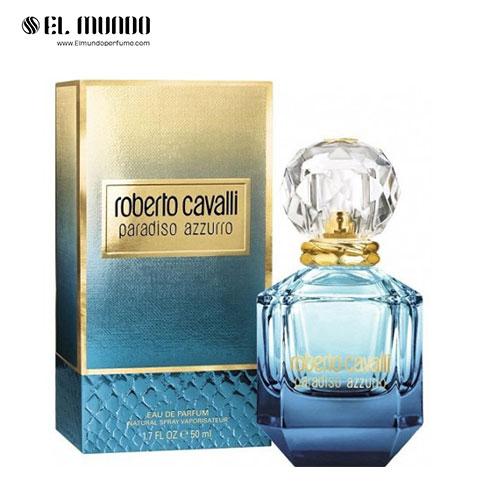عطر ادکلن زنانه روبرتو کاوالی پارادایسو آزورو ادوپرفیوم ۷۵ میل Paradiso Azzurro Roberto Cavalli