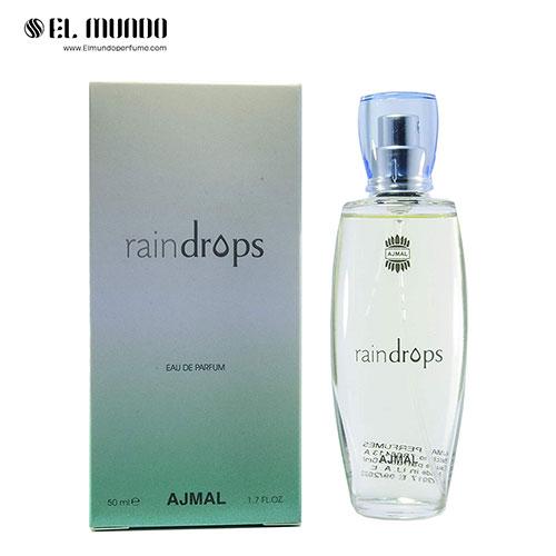 عطر ادکلن زنانه اجمل رین دراپس ادوپرفیوم ۵۰ میل Raindrops Ajmal for women