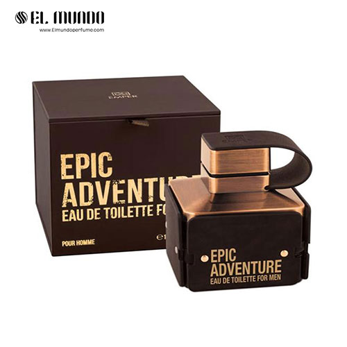 عطر ادکلن مردانه امپر اپیک ادونچر ادوتویلت ۱۰۰ میل Emper Epic Adventure