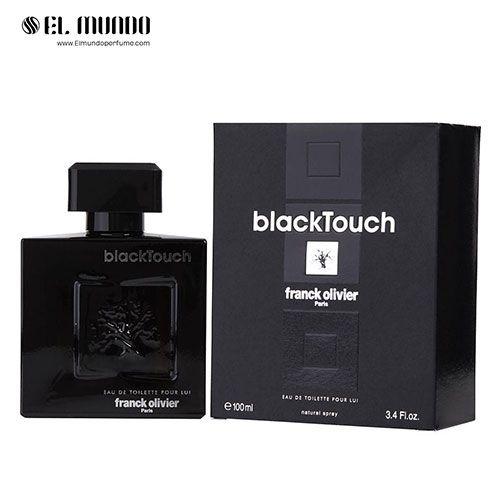 عطر ادکلن مردانه فرانک الیور بلک تاچ ادوتویلت ۱۰۰ میل Black Touch Franck Olivier for men
