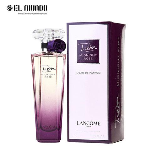 عطر ادکلن زنانه لانکوم ترزور میدنایت رز ادوپرفیوم ۷۵ میل Lancome Tresor Midnight Rose