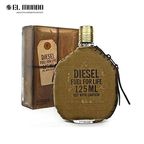 عطر ادکلن مردانه دیزل فیول فور لایف ادوتویلت ۱۲۵ میل Diesel Fuel for Life Homme For men