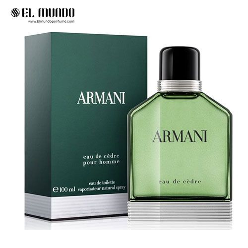 عطر ادکلن مردانه جورجیو آرمانی ادو سدر ادوتویلت ۱۰۰ میل Giorgio Armani Armani Eau de Cèdre