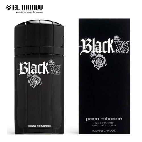 عطر ادکلن مردانه پاکو رابان بلک ایکس اس ادوتویلت ۱۰۰ میل Paco Rabanne Black XS