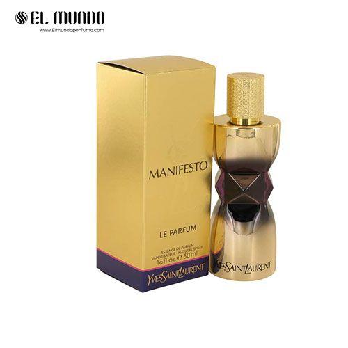 عطر ادکلن زنانه ایو سن لورن مانیفستو ل پرفیوم-طلایی ادوپرفیوم ۵۰ میل YSL manifesto Le Parfum