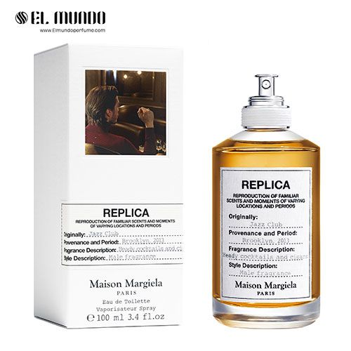 عطر ادکلن مردانه میسون مارتین مارگیلا جاز کلاب ادوتویلت ۱۰۰ میل Jazz Club Maison Martin Margiela
