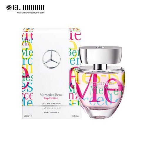 عطر ادکلن زنانه مرسدس بنز  فور هر پاپ ادیشن ادوپرفیوم ۱۰۰ میل Mercedes-Benz For Her Pop Edition