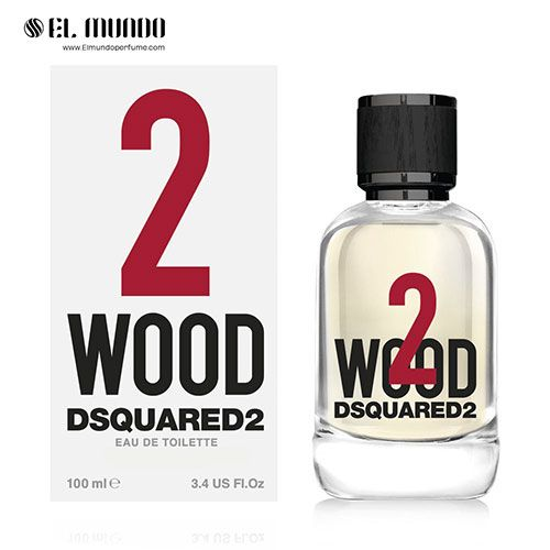 عطر ادکلن دی اسکورد وود تو ادوتویلت ۱۰۰ میل ۲ Wood DSQUARED²