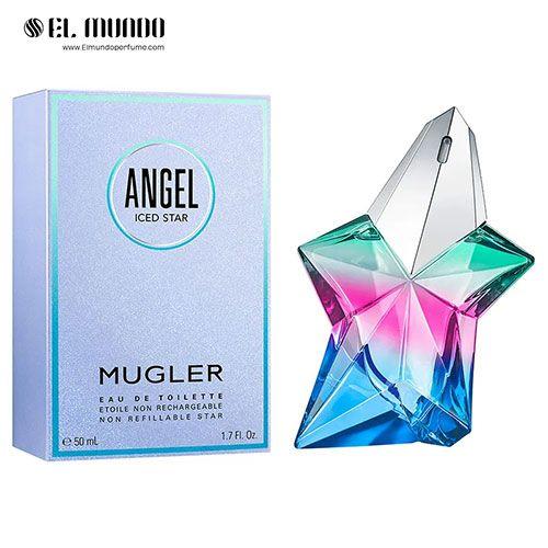 عطر ادکلن زنانه تیری موگلر آنجل ایسد استار ادوتویلت ۵۰ میل Thierry Mugler Angel Iced Star