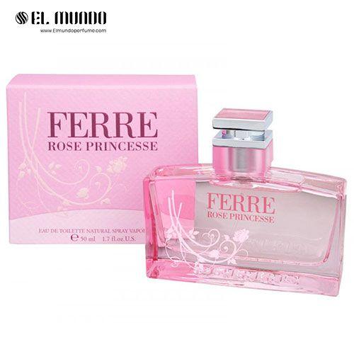 عطر ادکلن زنانه جیانفرانکو فره رز پرنسس ادوپرفیوم ۱۰۰ میل Ferré Rose Princesse Gianfranco