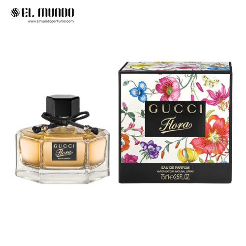 عطر ادکلن زنانه گوچی فلورا ادوپرفیوم ۷۵ میل Flora by Gucci Eau de Parfum Gucci