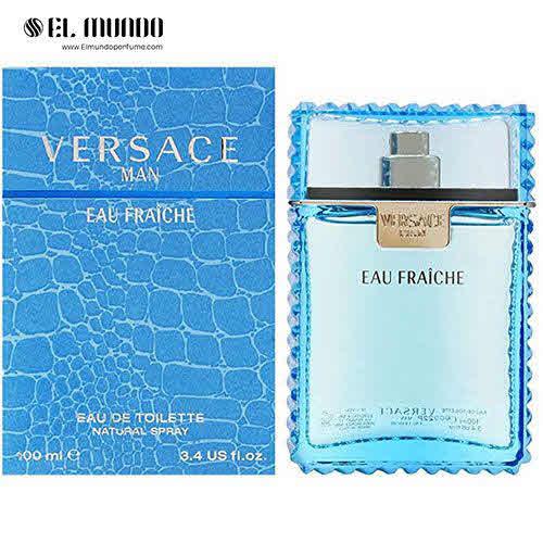 عطر ادکلن مردانه ورساچه او فرش ادوتویلت ۱۰۰ میل Versace Eau Fraiche