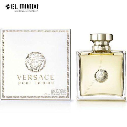 عطر ادکلن زنانه ورساچه ورساچه پور فم ادوپرفیوم ۱۰۰ میل Pour Femme Versace for women