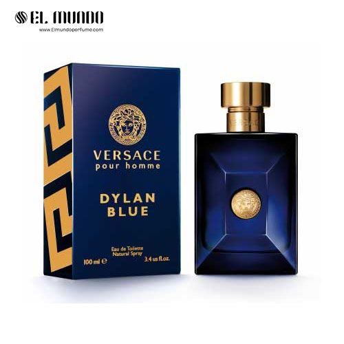 عطر ادکلن مردانه ورساچه پورهوم دیلن بلو ادوتویلت ۱۰۰ میل Versace Pour Homme Dylan Blue