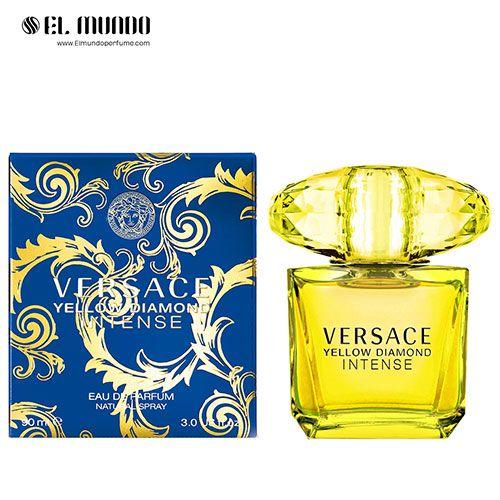 عطر ادکلن زنانه ورساچه یلو دیاموند اینتنس ادوپرفیوم ۹۰ میل Versace Yellow Diamond Intense