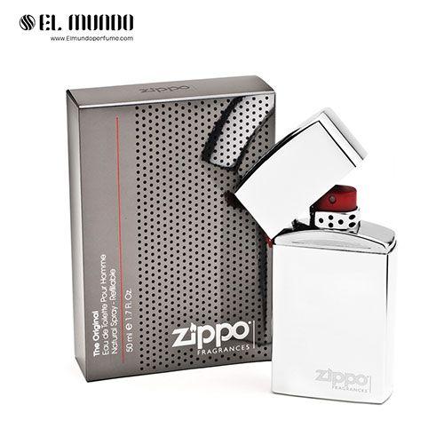 عطر ادکلن مردانه زیپو اورجینال ادوتویلت ۵۰ میل Zippo Original