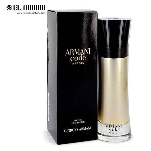 عطر ادکلن مردانه جورجیو آرمانی کد ابسولو ادوپرفیوم ۲۰۰ میل Armani Code Absolu