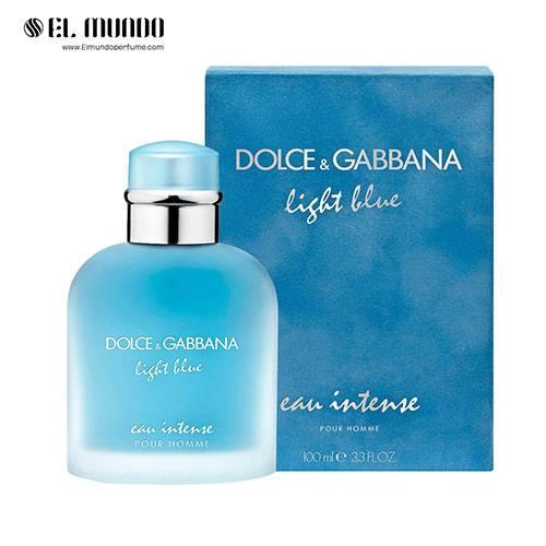 عطر ادکلن مردانه دولچه گابانا لایت بلو او اینتنس ادوپرفیوم ۱۰۰ میل Light Blue Eau Intense Pour Homme Dolce&Gabbana