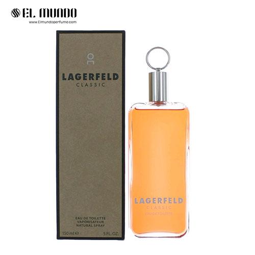 عطر ادکلن مردانه کارل لاگرفلد کلاسیک ادوتویلت ۱۵۰ میل Lagerfeld Classic Karl Lagerfeld