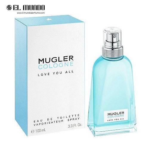 عطر ادکلن تیری موگلر کولون لاو یو ال ادوتویلت ۱۰۰ میل  Mugler Cologne Love You All